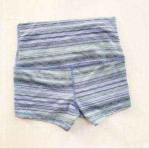 ❤️Lululemon Striped Booty Shorts